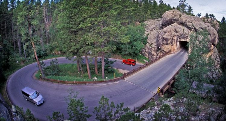 One of Iron Mountain Road s distinctive pigtail bridges. Photo by Chad Coppess. Click to enlarge photos.