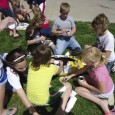 April 25 was giant pumpkin-planting day at Parkston Elementary School. Photos by Rob Monson. Click to enlarge photos.