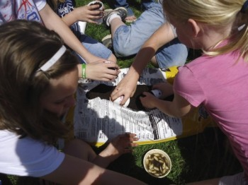 These Hutchinson County kids are not afraid to get their hands dirty.