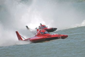 Hydroplanes race for the cup at the annual <a href='http://www.rivercityracin.org/' target='_blank'>River City Racin'</a> weekend held in June.