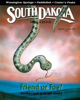 Our September/October 2002 cover featured a friendly rattlesnake, but caused an uproar among our readers.