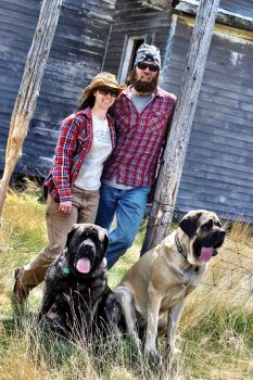 Jeremy and Bobbi Schmidt turn detritus from the great outdoors into functional goods inside their Custer studio.