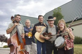 Stringbean Svenson, pictured here with his band in 2004, will be performing at the Custer State Park Buffalo Roundup and Arts Festival. Photo by Bernie Hunhoff.