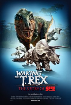 A 23-minute film in the Wells Fargo Cinedome depicts Sue growing from a hatchling to a 7-ton ferocious beast.