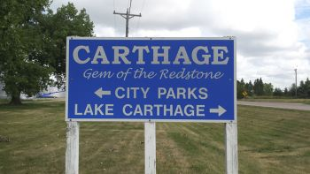 Back in Carthage.