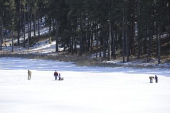 Winter fun at Sheridan Lake. Photo by Bernie Hunhoff.