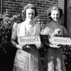 Esther Aspaas and Dorothy Fellows competed for Miss Absaroka in 1939.