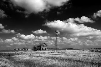 A prairie scene in rural Kingsbury County.