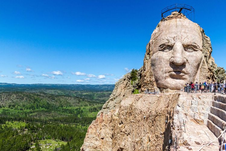 Spring Hike at Crazy Horse