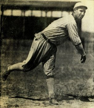 Among Jim 'Death Valley' Scott's professional baseball achievements was a no-hitter that was later rescinded. The Deadwood native pitched eight years in the major leagues. Photo courtesy of the South Dakota Sports Hall of Fame.