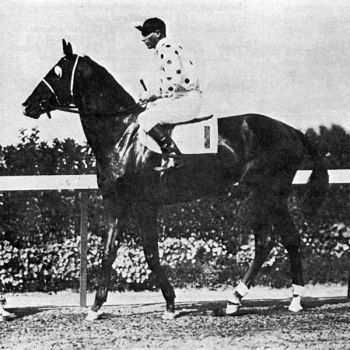 Groton's Earl Sande rode Gallant Fox to horse racing's Triple Crown in 1930.
