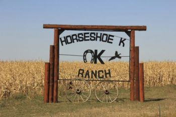 The Horseshoe K Ranch in Gann Valley has hosted the hunt in recent years.