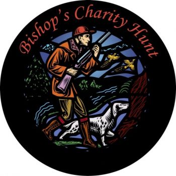 The Bishop's Hunt logo was inspired by a stained glass window in St. Joseph's Cathedral in Sioux Falls. Click to enlarge photos.