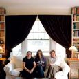 The Bottum family — Lorena, Faith and Jody —settled into a historic Hot Springs house that has space for the writer's collection of more than 10,000 books.