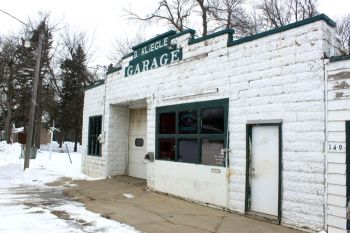 Kliegle's Garage has been a mainstay in Goodwin for 100 years. A centennial celebration is planned for this summer.