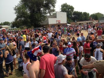 More than 5,000 people flock to Kranzburg, pop. 150, for the Fourth of July parade.