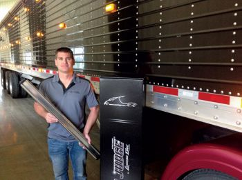 Shawn Gengerke's invention ensures you load the perfect amount of grain every time.