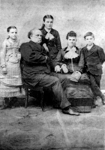The Penningtons, First Family of Dakota in the 1870s.