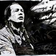Russell Means, as depicted by visual artist Bruno Leyval. See more of Leyval s work at www.brunoleyval.com.