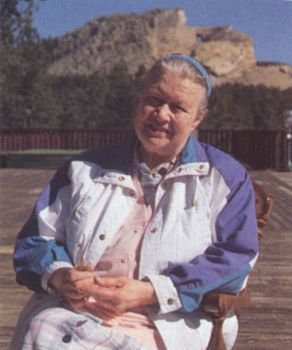 Ruth Ziolkowski guided work at Crazy Horse after Korczak's death in 1982. The memorial's matriarch died Wednesday, May 21, in Rapid City.