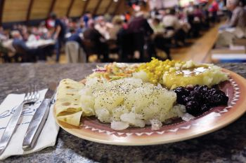 The Summit lutefisk supper, held in early November, is one of the state's largest.