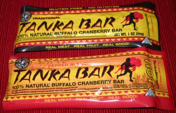Tanka Bar's mix of bison and cranberry has origins in traditional Lakota culture and serves as a low-calorie alternative to other snack foods.