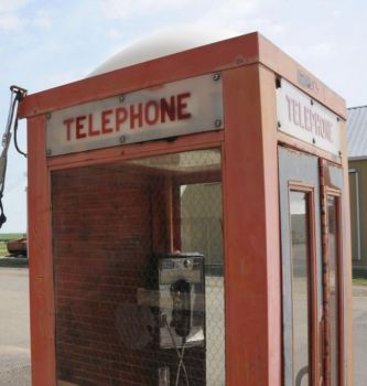 Think you know where this phone booth is located? Take a guess in the comments below.